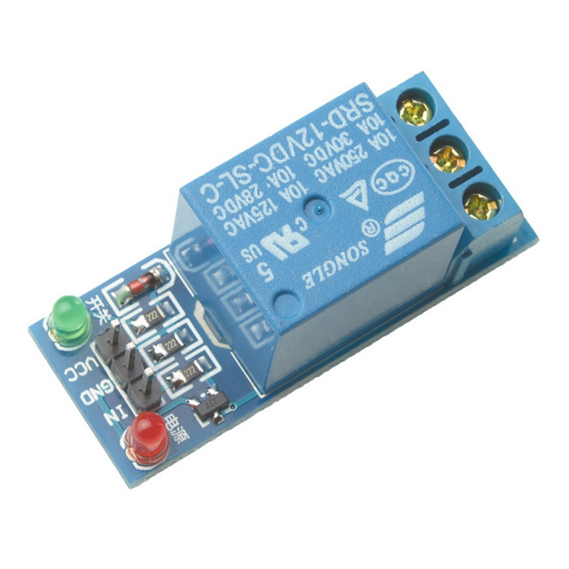 1x 1-Channel 12V Relay Expansion Board Module High Level Triger for Arduino 5v 2 channel ir relay shield expansion board module for arduino with infrared remote controller