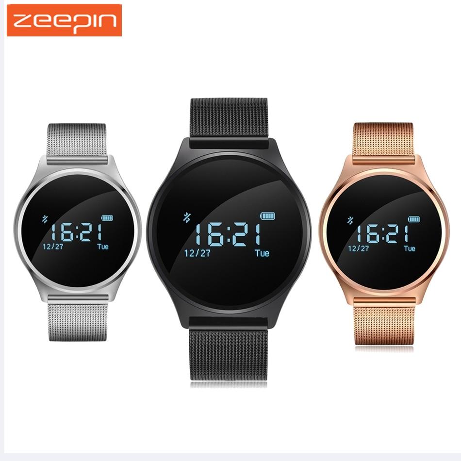 imágenes para M7 ronda bluetooth smart watch vida a prueba de agua de la presión arterial/monitor de ritmo cardiaco sport pulsera inteligente para android ios