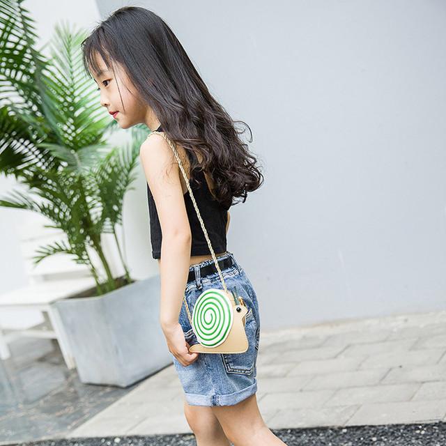 ISHOWTIENDA shoulder bag elegant Fashion Children's Mini Crossbody Bag Shoulder Bag Summer Cartoon Coin Purse bolsa feminina