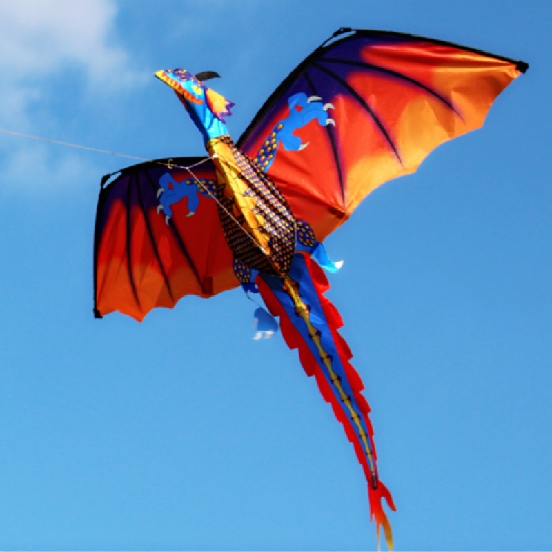 2017-Creative-flying-kites-stereo-Dragon-Kite-With-Line-Outdoor-Sports-Kite-Toy-kite-Accessories-Children-New-Year-Gift-1