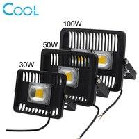 LED Flood Light 50W 30W 100W Outdoor IP65 Waterproof Floodlight 220V LED Spotlight Refletor Gargen Lamp