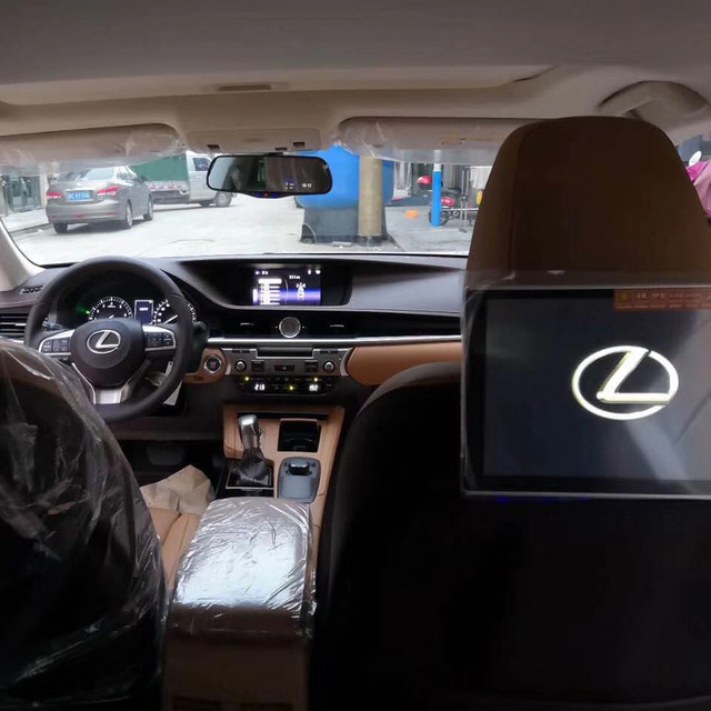 Rear Seat Car Android Headrest Car Monitor For Lexus CT ES GS GX IS LS LF