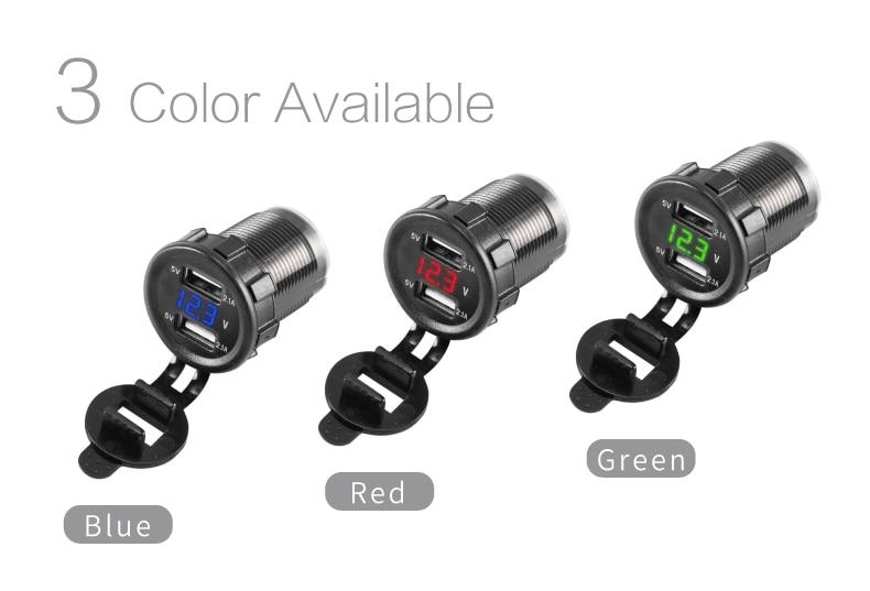 Car USB Port Charger 02