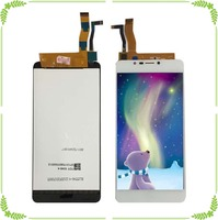 For Wiko tommy 2 plus LCD Display+Touch Screen Digitizer Assembly Replacement Black White Color