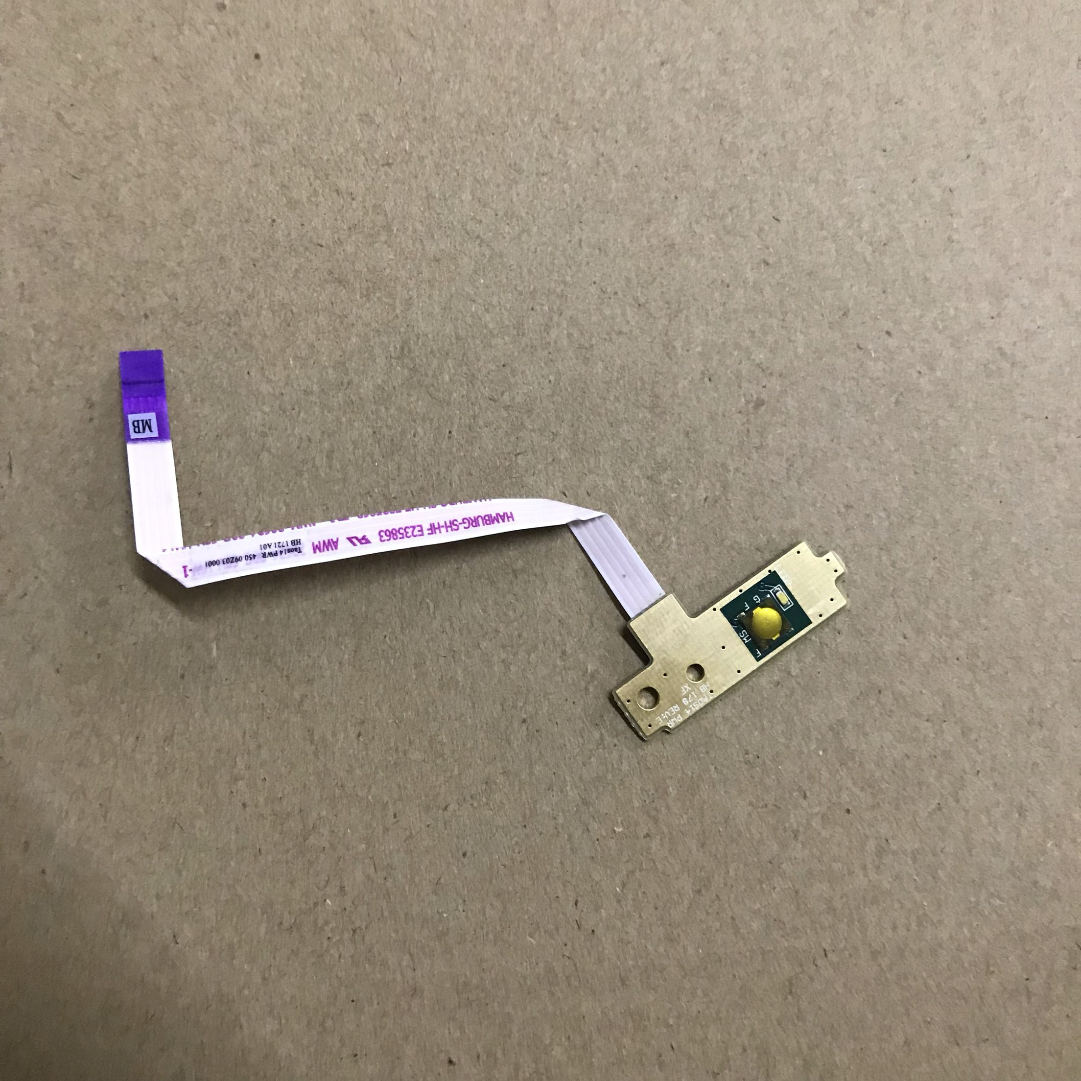 For <font><b>Dell</b></font> Latitude <font><b>3580</b></font> Power Button Circuit Board with Cable - Taos15PWR 450.0A105.0021 image