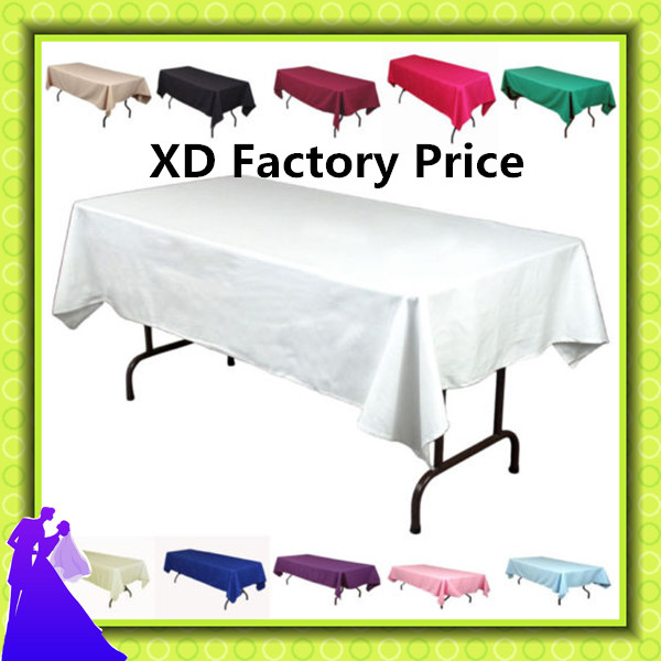 High Qualityu0026top Sale!!150*320cm 10pcs Wedding Table Cloth Polyester Event  Banquet Table