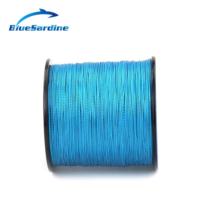 BlueSardine Mavi Balıqçılıq Xətti 300M Multifilament PE - Balıqçılıq - Fotoqrafiya 4