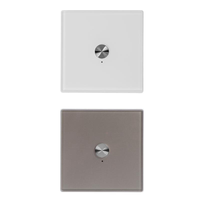 De haute Qualité AC100-240V 50/60Hz 2 Way Télécommande Sans Fil Commutateur Récepteur pour Mur Lumière avec Ensemble Complet Inastalling Pièces