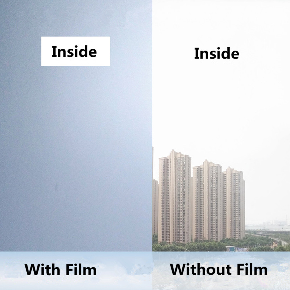 Mirrored Frosted Privacy Frost Home Bedroom Bathroom Glass Window Film Sticker office kitchen door decor Sticker 1.52m x 2m