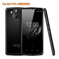 OUKITEL K10 4G Smart Phone 6.0 cal Android 7.0 Octa MTK6763 rdzeń 6 GB RAM 64 GB ROM 11000 mAh Quad 4 Linii Papilarnych Aparaty Telefon
