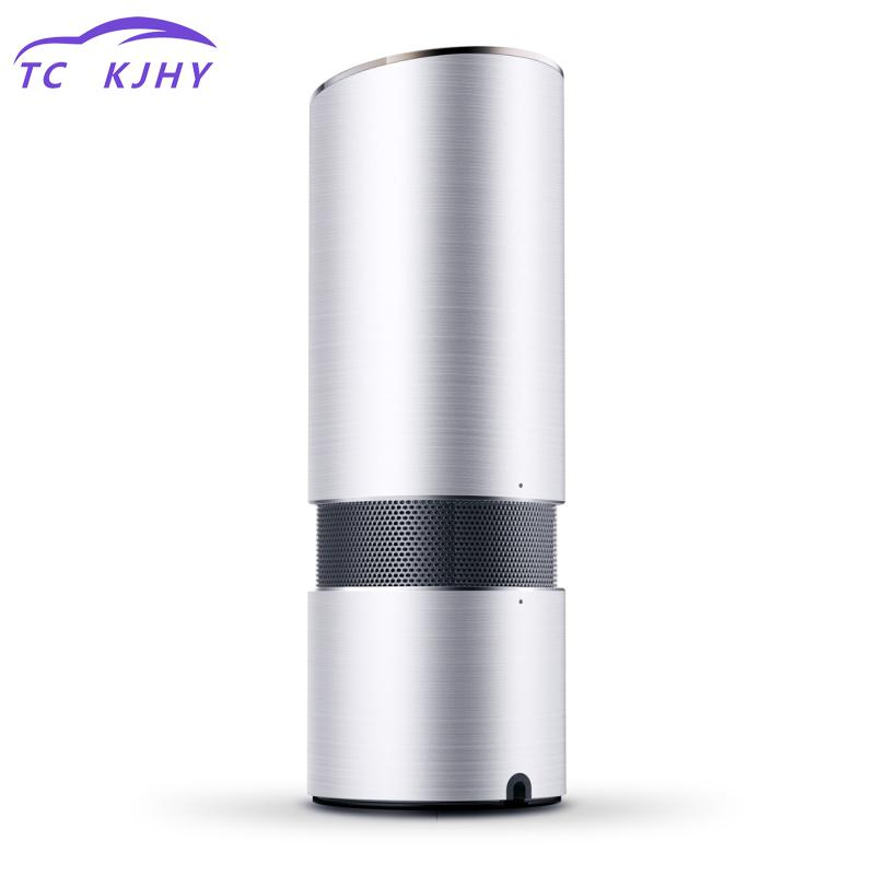 цена на 2018 Car Air Cleaner Air Ionizer Dc 12v Auto Car Freshener Air Ionic Purifier Oxygen Bar Ozone Ionizer Cleaner Sterilizer
