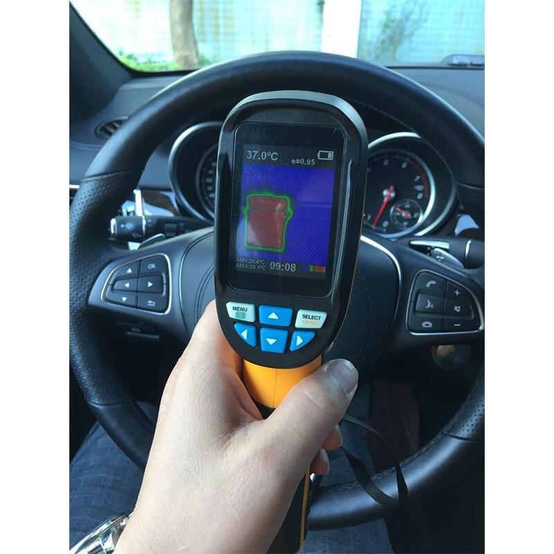 """220X160 Инфракрасный Тепловизор ИК разрешение ручной пикселей тепловизор камера с 3,"""" цветной TFT экран"""