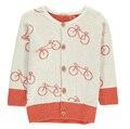 4 шт./лот девочка свитер дети детей длинным рукавом велосипед шары кардиган девушка свитер 0121 сильвия 544874955906