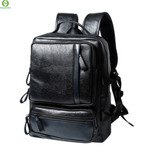 New Arrival Men Genuine Leather Backpacks Vintage Style Travel Bags Fashion Men's School Bags Backpacks Casual Laptop Backpack