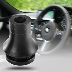 Image 4 - M12 X 1.25 evrensel araba düşük profil vites topuzu Boot adaptörü otomatik manuel vites kolu kolu tutucu Toyota subaru Ford