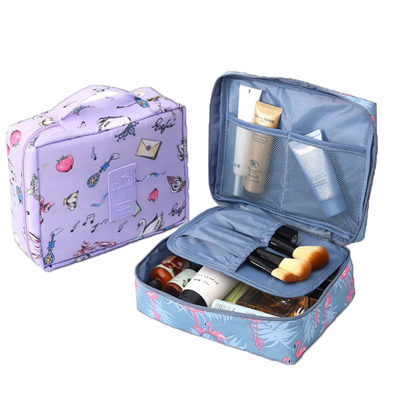 XYLOBHDG Travel Cosmetic Bag Women Makeup Bags Toiletries Organizer Bag Waterproof Female Storage Make Up Cases