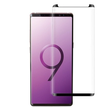 100pcs 3D Curved Full Cover Tempered Glass For Samsung Galaxy Note 9 Note9 Screen Protector Film For Samsung S9 S8 Plus Glass