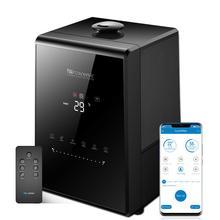 Proscenic 807C 5.5L חם ומגניב ערפל קולי מכשירי אדים עבור שינה והתינוקות, מאדה עם אפליקציה Aleax שליטה