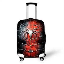 18-32 дюймов супергерой чехол для чемодана защитные чехлы эластичный Анти-пылезащитный чехол Крышка тележка