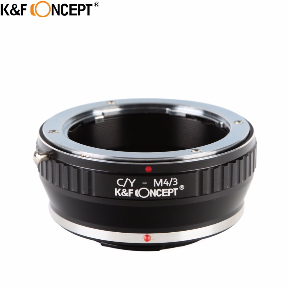 K&F CONCEPT Metal Camera Lens Mount Adapter fit for Contax C/Y CY Lens to for Micro 4/3 Camera Body For Olympus/ Panasonic недорго, оригинальная цена