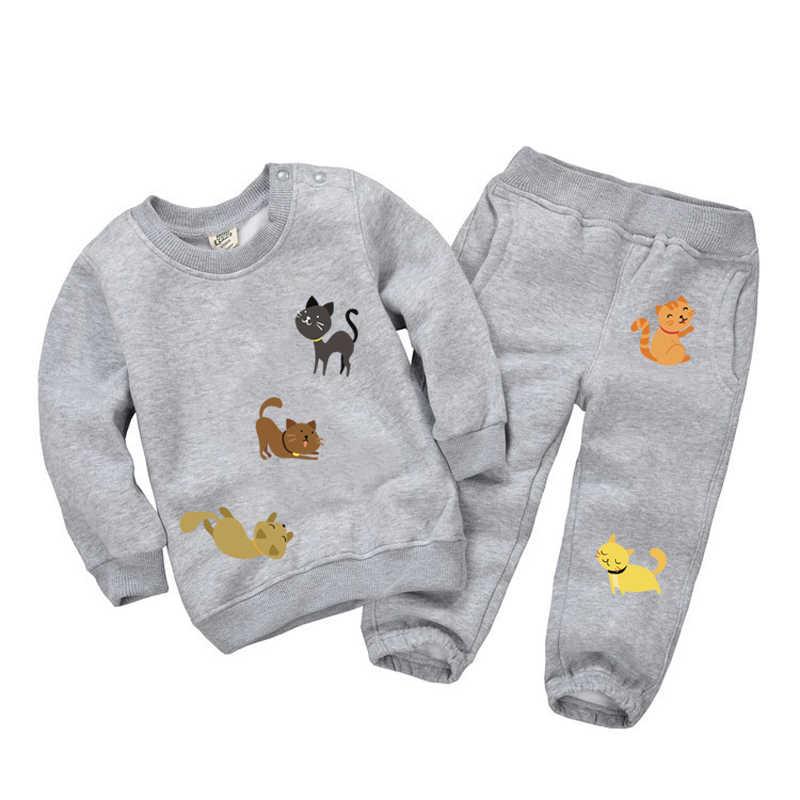 مجموعة من التصحيح الحديد على الملابس لطيف الحيوان الكبير القط الملابس ديكور شارات نقل الحرارة ملصقات الأطفال T-shirt بها بنفسك تي شيرت قابل للغسل E