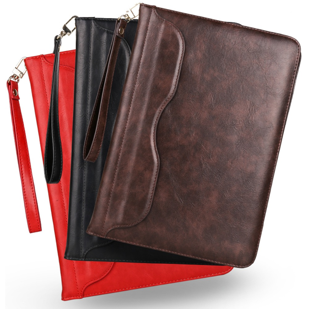 For Coque Capa iPad Mini 4 Case Luxury Portfolio Flip PU Leather Kickstand Cover Cases for iPad Mini 4 3 2 1 7.9 INCH Tablet