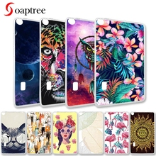 Painted Tablet Cases For Huawei MediaPad T3 7 Case BG2-W09 Wifi Version For Huawei MediaPad T3 7.0 Cover Soft TPU e-Books