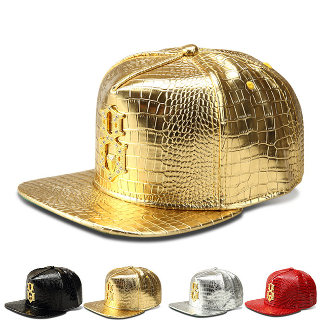 A nova liga de diamante da marca Maré boné de beisebol boné de hip-hop do Crocodilo Grãos de aba larga do chapéu hiphop chapéu atacado