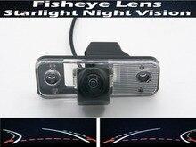 цена на 1080P Fisheye Lens Trajectory Tracks  Car Rear view Camera For Hyundai Azera SantaFe Santa Fe IX45 2009 2010 2011 2012 Car