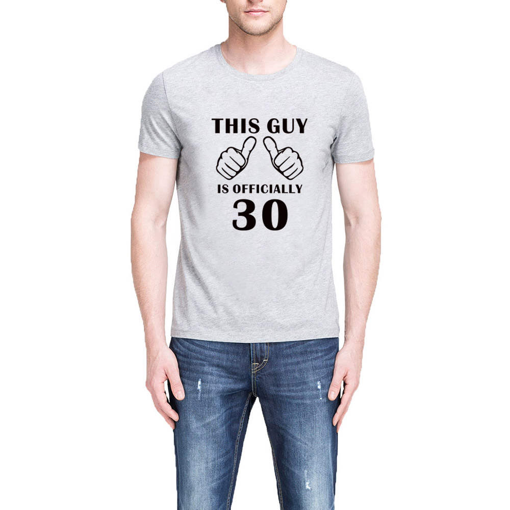 30th Birthday T Shirts For Him
