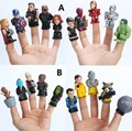 10pcs/lot Marvel avengers infinity war action figure toys Guardians of The Galaxy puppets Iron Man Hulk Captain America Doll