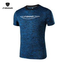 FANNAI 2017 Men's football jerseys Running Rash T Shirt Quick Dry Slim Fit T-shirt Men Sport Sleeve Clothing Suit free shipping
