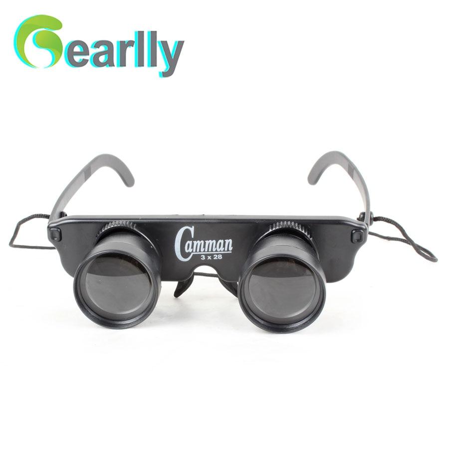 Forfremmelse! Hot Sale 3 x 28 briller, teleskop leketøy utendørs - Fiske