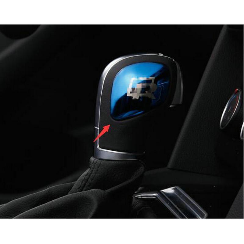 Us 101 15 Offstyo Auto Edelstahl R Schalthebel Abdeckung Schaltknauf Kopf Aufkleber Für Vw Passat B8 Cc Golf 7 Mk7 Tiguan Jetta Touran In Kfz