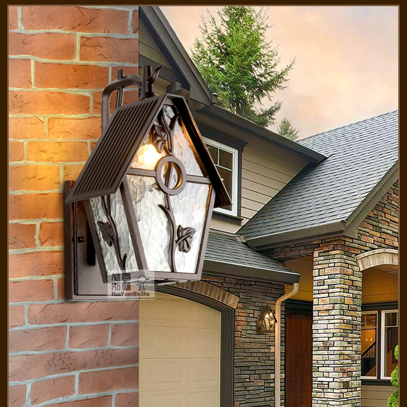 outdoor lamps led light bedroom wall outdoor villa garden wall lamp bar coffeshop sconce lamp for reading books studio lights