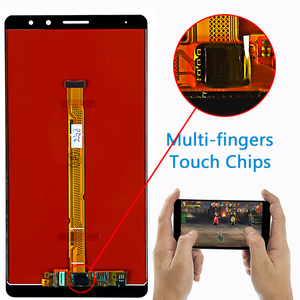 Image 3 - AAA IPS LCD display For Huawei Mate 8 touch screen Digitizer Sensor Assembly 6.0 inch 1920*1080 Frame with Free Glass film Tools