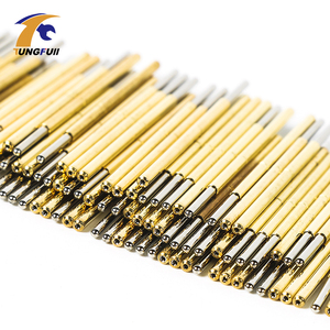 Image 4 - Spring Test Probe Best Promotion 500 Pieces P50 P100 Pogo Pin Phosphorus Brass Gilded Stainless Steel Wire