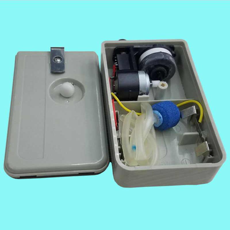 الترا الصامت حوض السمك مضخة هواء ضاغط الهواء بطارية تعمل الأكسجين Airpump منفذ واحد 1.5 واط الأسماك الملحقات 1 قطعة