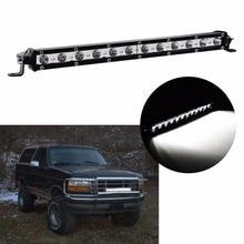 36 Вт высокая интенсивность одного светодиодные панели работа внедорожных для Jeep TRUCK 4*4 внедорожник ATV трактор Spot/потока фар Бар