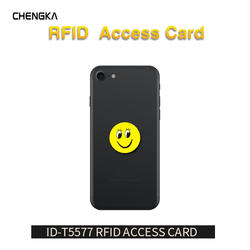 5 шт./лот RFID 125 кГц T5577 записываемый EM4305 анти металла помех наклейки с героями мультфильмов наклейки близость карты метки для RFID Копир