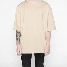 2018 nuevo streetwear ropa hiphop camisetas de gran tamaño moda algodón moda  hombres ropa urbana( ba434ab3a98