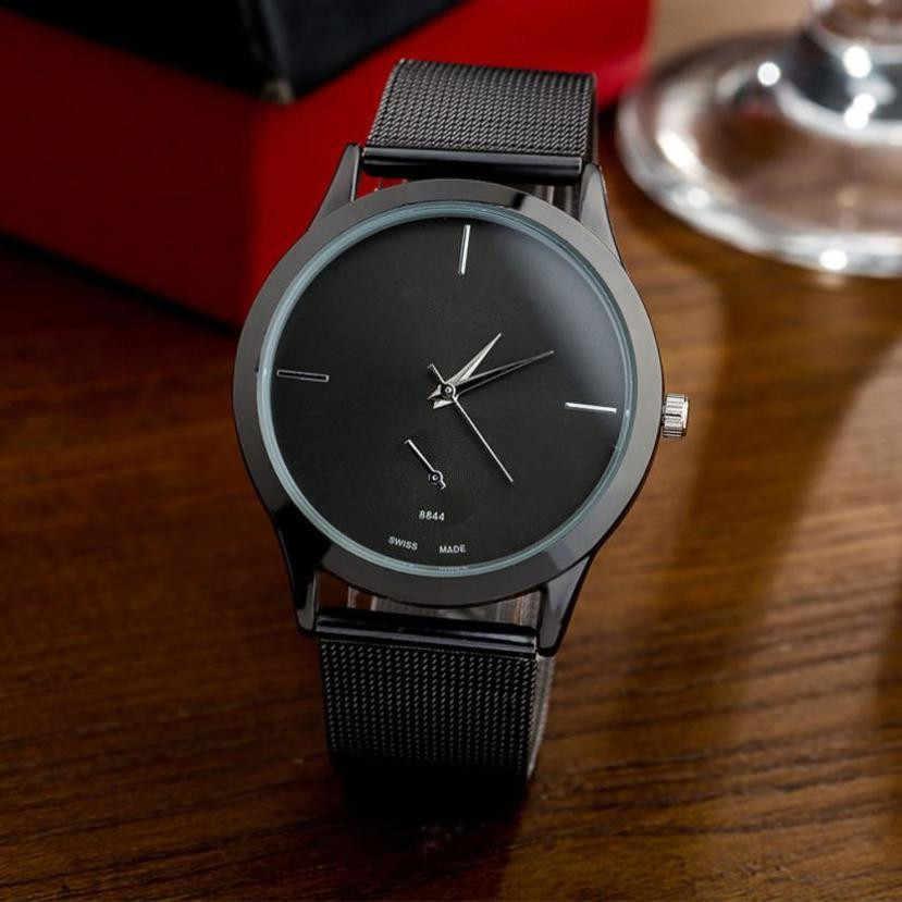 Reloj de correa de aleación de moda, Reloj de cuarzo de estilo minimalista Unisex, relojes para Mujer, Reloj deportivo de lujo de marca superior para Mujer, Reloj deportivo 2018