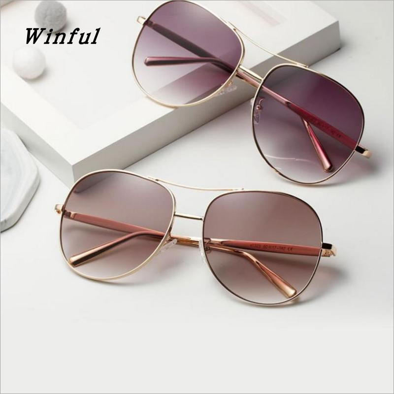 New Brand Designer Double-Bridge Sunglasses Women Men Vintage Metal Frame Driver Sun Glasses UV400 Goggles fashion Sunglass