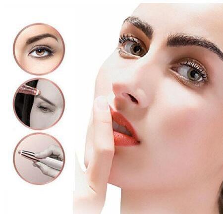 Electric Eye Brows Epilator Eyebrow Trimmer Mini Painless Eye Brow Epilator For Women Eyebrow Trimmer Mini Shaver Razors 2