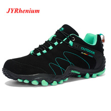 High Quality Mens Mountain Hiking Shoes Woman Trekking Shoes Genuine Leather Climbing Sport Sneakers Zapatillas Outdoor Hombre