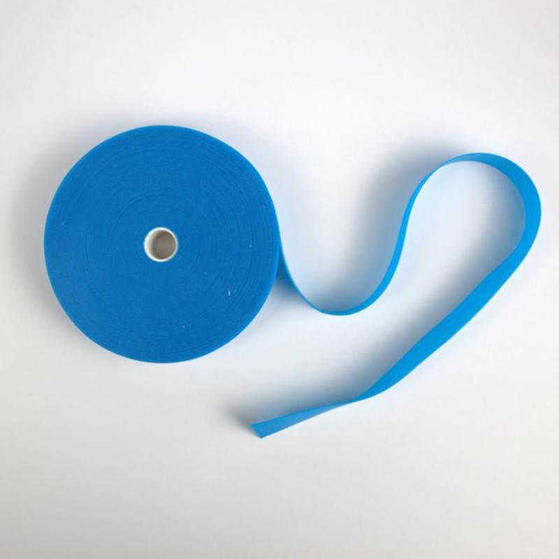 1roll/ Box Disposable Medical Blue Tourniquet Emergency Necessities Stop Bleeding Strap Thermoplastic Rubber Material