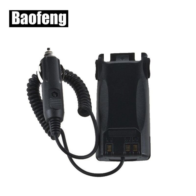Walkie Talkie Baofeng UV-82 Battery Eliminator Car Charger For UV-89 UV-82 UV-8D UV-89 radios