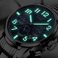 AESOP светящиеся автоматические механические часы, мужские роскошные брендовые деловые водонепроницаемые мужские часы из нержавеющей стали,...