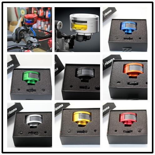 015 Direct Selling Sale Cnc Aluminum Motorcycle Brake Fluid Reservoir Golden Oil Cup For Kawasaki Z750