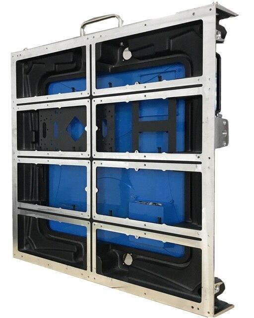 Ospita 8 pcs moduli vuoto 128*128 dots p5 indoor/outdoor 640*640 millimetri die cast materiale di alluminio HA PORTATO i segni per le imprese